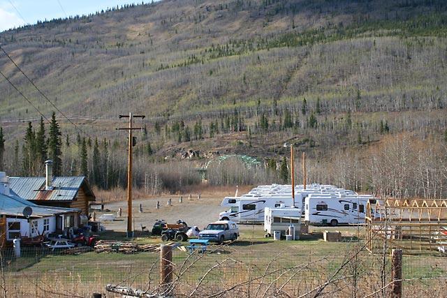 Stewart Crossing Yukon Territory Alaska Northern British