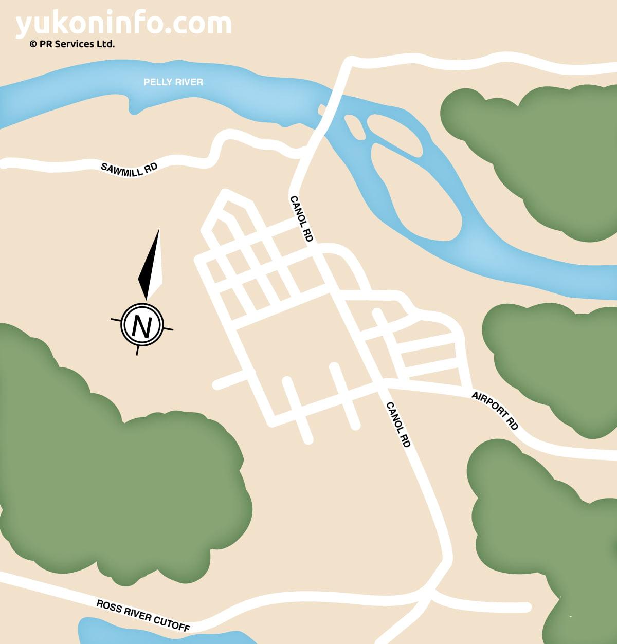 Ross-Riverr-Map