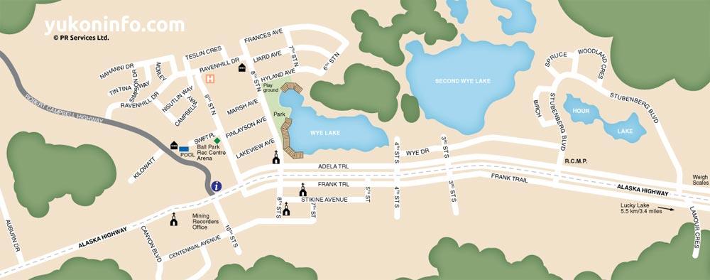 Watson-Lake-Downtown-Map