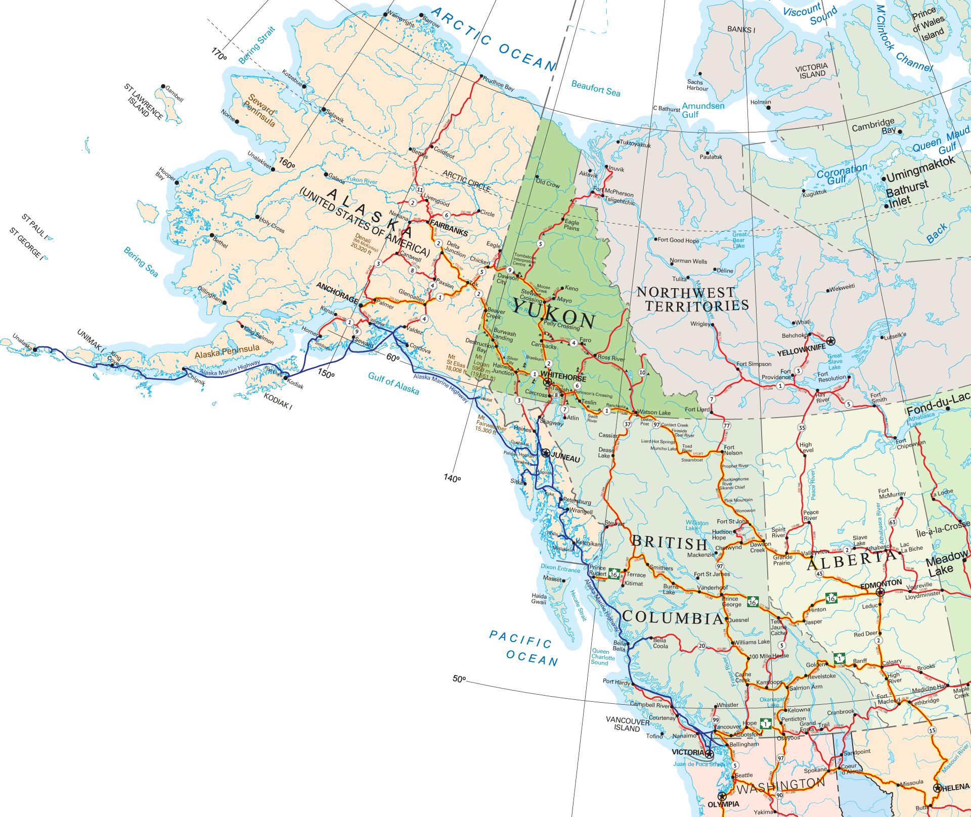 Northwest North America