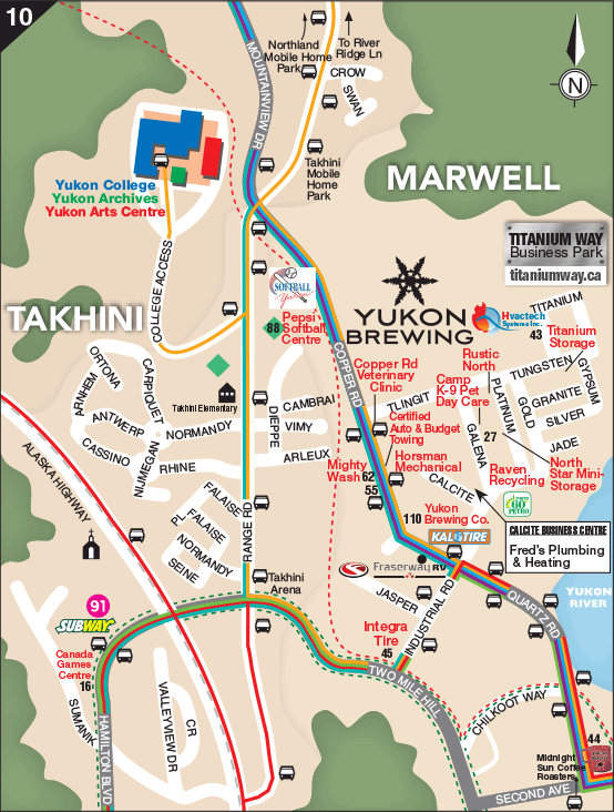 Whitehorse Map