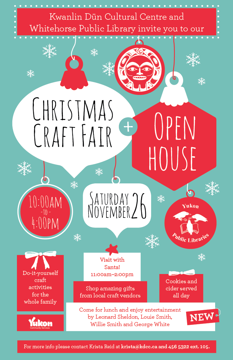 Christmas Craft Fair Amp Open Houseyukon Territory Alaska