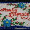 Family Literacy Cake Photo